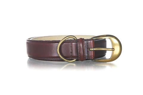 LINEA PELLE by Mira K Leather Belt