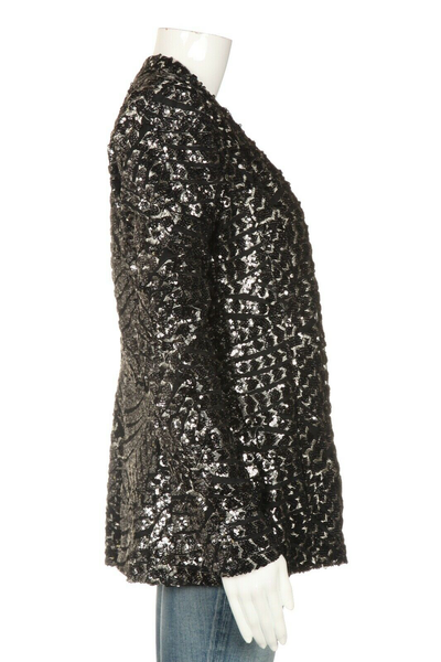 ZARA Sequin Embellished Jacket Size M