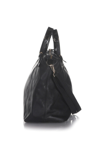 TED BAKER Large Leather Tote Bag - side view