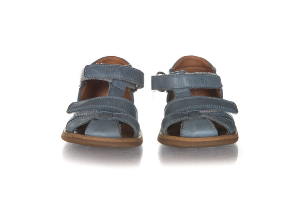 POM D'API Leather Strap Sandals - front view