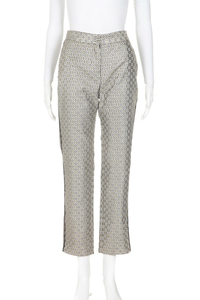 MAJE Pane Metallic Crepe Trousers