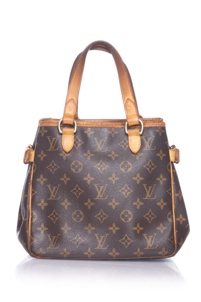 LOUIS VUITTON Monogram Batignolles PM Handbag - back view