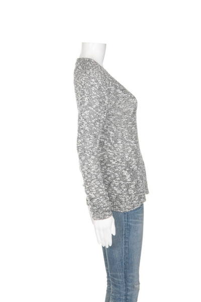 THEORY Marled Knit Sweater - side view