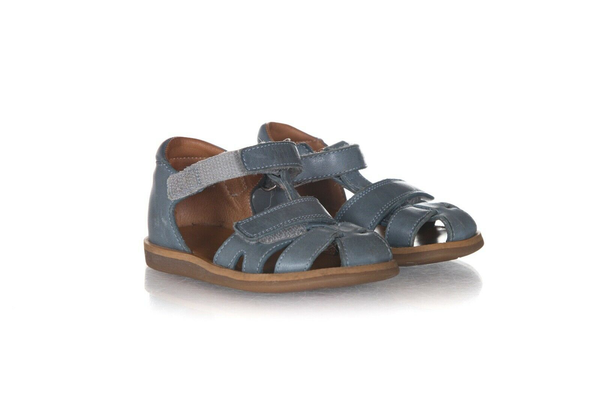 POM D'API Leather Strap Sandals - side view