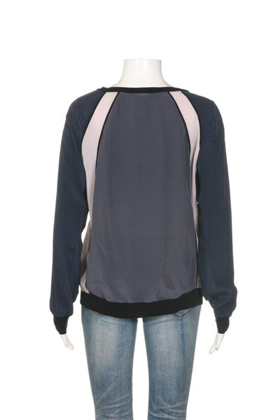 REBECCA TAYLOR Silk Raglan Top - back view