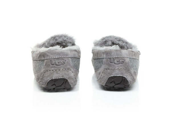 UGG Ascot Wool Suede Slippers - back view