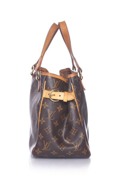 LOUIS VUITTON Monogram Batignolles PM Handbag - side view