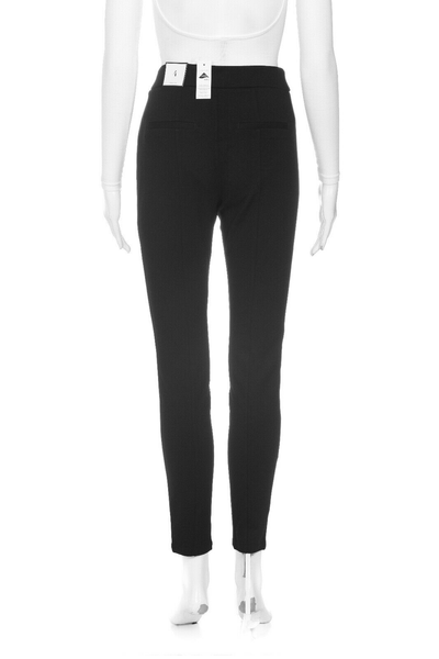 WHITE HOUSE BLACK MARKET Striped Ponte Legging - back view
