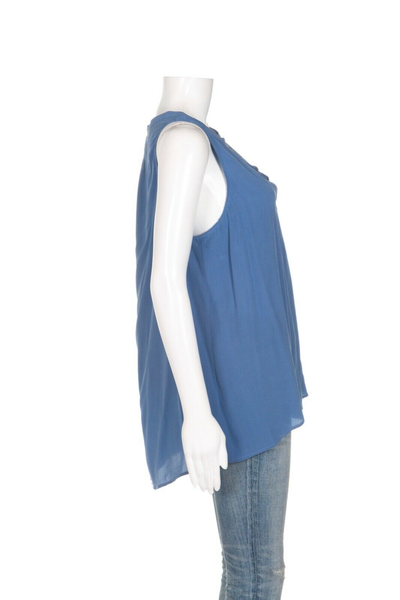 JOIE Silk Deasia Sleeveless Blouse - side view