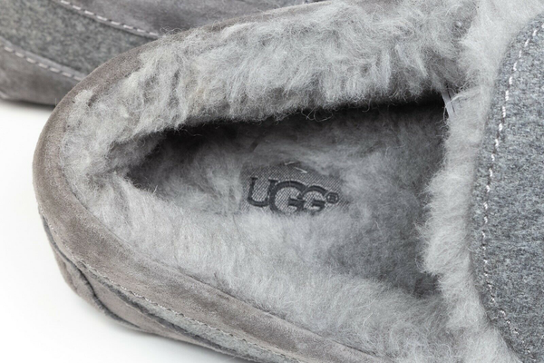 UGG Ascot Wool Suede Slippers - inside view