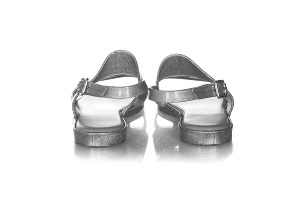 MELISSA Glitter Jelly Sandals - back view
