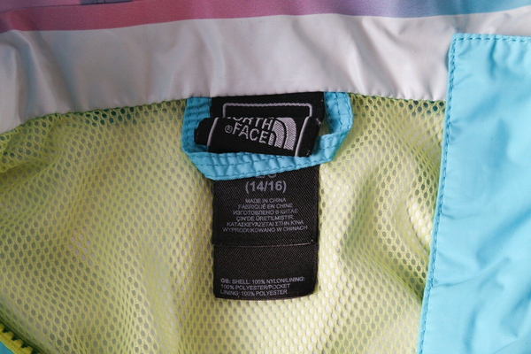 THE NORTH FACE HyVent Raincoat - designer tag