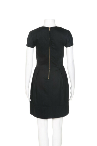 MARC BY MARC JACOBS Wool A-Line Dress - back view