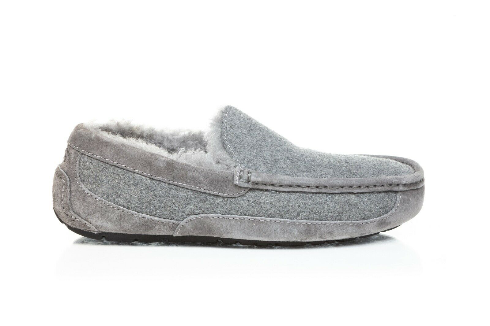 UGG Ascot Wool Suede Slippers