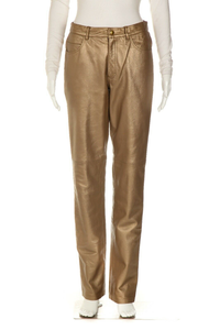 HUGE BUSCATI COLLECTION Metallic Coated Pants