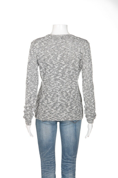 THEORY Marled Knit Sweater - back view