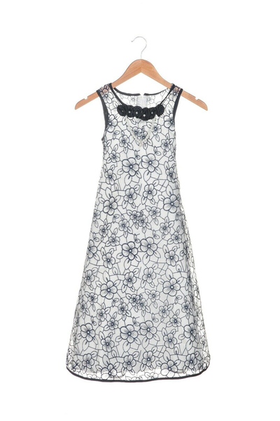 NIMBLE Floral Embroidered Dress
