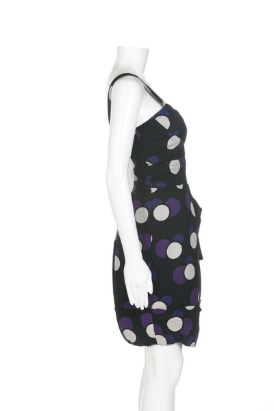 MARC BY MARC JACOBS Polka Dot Silk Dress - side view