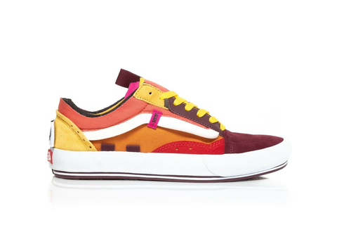 VANS Old Skool Cap Skate Sneakers in Red