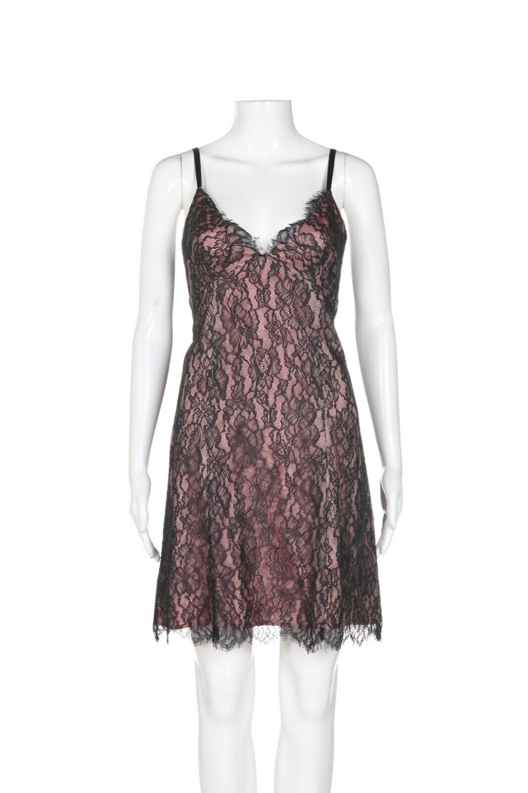 COREY LYNN CALTER Lace Slip Dress