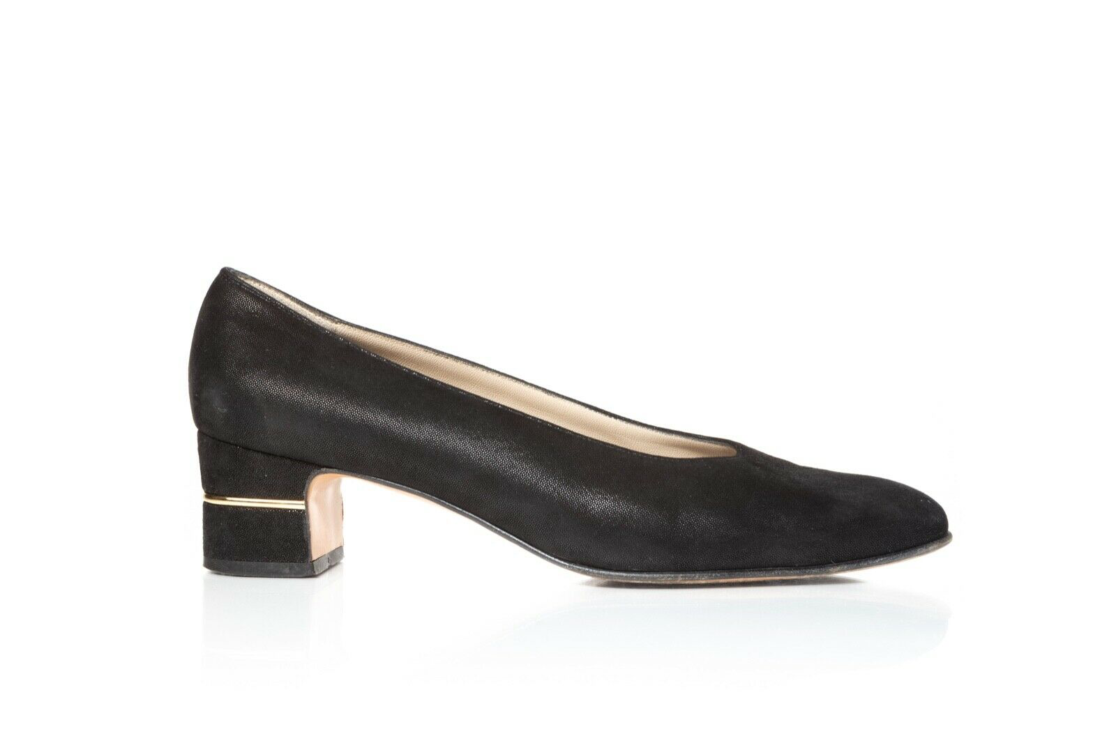 SALVATORE FERRAGAMO Classic Low Heel Pumps