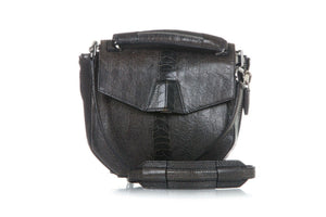 ALEXANDER WANG Embossed Structured Shoulder Bag