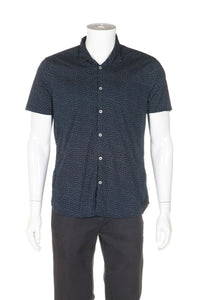 JOHN VARVATOS Short Sleeve Luxe Shirt Size L