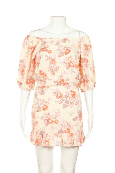 FLYNN SKYE Floral Mini Dress Size S