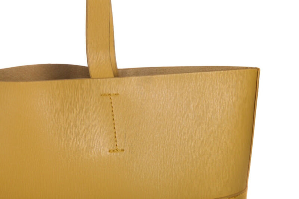 NEIMAN MARCUS Structured Leather Tote Bag