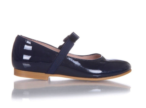 JACADI Mary Jane Patent Leather Flats Size 26 (9.5)  (New)