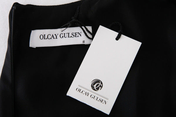 OLCAY GULSEN Maxi Open Back Gown Size S (New)