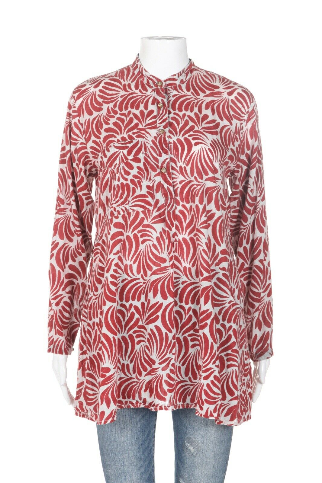 ROBERTA ROLLER RABBIT Printed Tunic Top Size XS