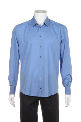 DOLCE & GABBANA Martini Dress Button Down Shirt Size 16.5