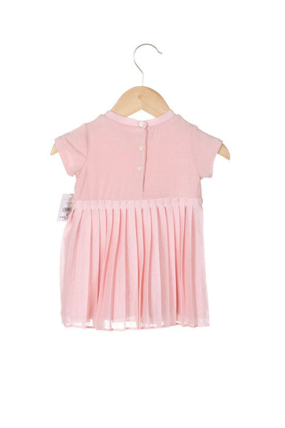 RALPH LAUREN Baby Pleated Dress Size 3M (New)