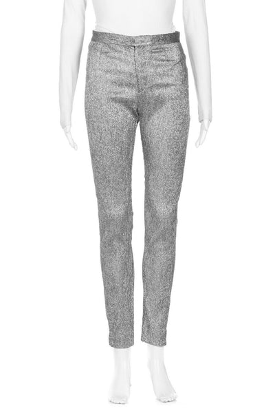 ISABEL MARANT Skinny Sparkly Pants Size 34 (XS)