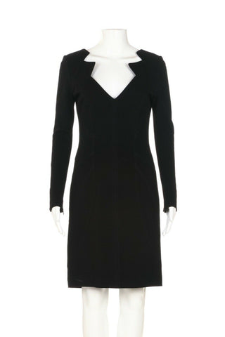 ANDREW GN Structured Cocktail Dress Size 40 (8)