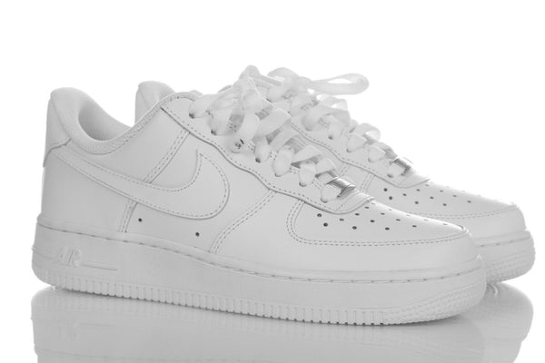 NIKE Air Force 1 Bright White Sneakers Size 6.5 (New)