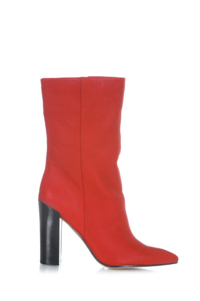 DOLCE VITA Ethan Boots Red Pointed Size 9.5 (New)