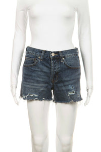 Dark Distressed Denim Shorts Tomgirl Size 25