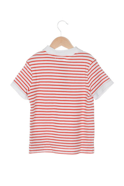 JANIE AND JACK Striped Polo Tee Size 5