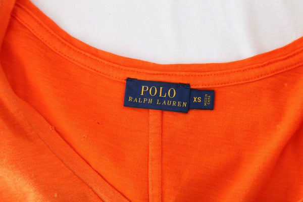 POLO RALPH LAUREN Distressed Acid Wash Tee Size XS