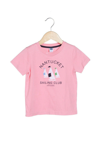 JANIE AND JACK Baby Boy Nantucket Sailing Club Tee Size 18-24M