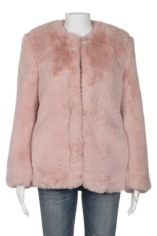 GAP Faux Fur Coat Size S (New)