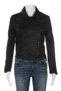 ADRIANO GOLDSCHMIED The Biker jacket Coated Size S