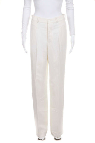 RALPH LAUREN COLLECTION Wide Leg Linen Pants Size 6