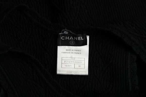 CHANEL Sleeveless Knit Top Size 40 (S)