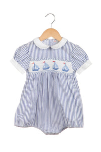 LEGACY Nautical One-Piece Romper Size 12 Month (New)