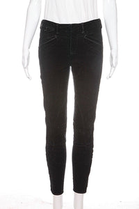 RALPH LAUREN Blue Label Black Corduroy Jodhpur Skinny Pants Size 2