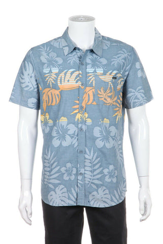 O'NEILL Hawaiian Short Sleeve Shirt Size M