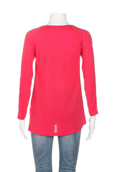 LACOSTE Long Sleeve Top Size 32 (XS)
